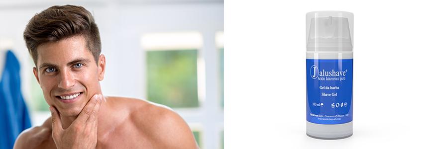 Jalushave; Hyaluronsäure; Anti-Ageing; Rasiergel